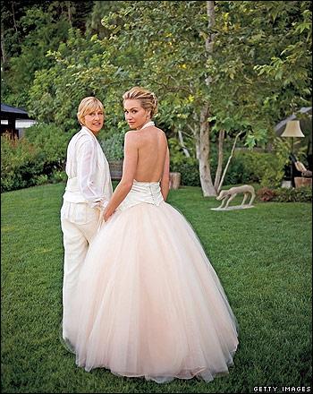 Ellen DeGeneres Portia de Rossi Wedding