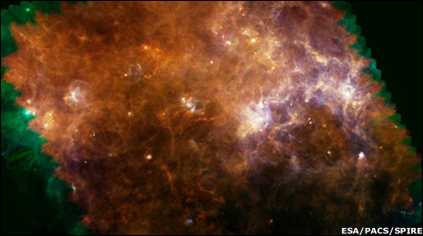 Space Fireworks in the center of our galaxy