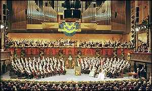 Ceremonia de entrega del Nobel