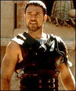 Gladiator is the most recent movie honoured