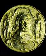 [ image: Silver-gilt medal struck to celebrate Cromwell's elevation to Lord Protector]