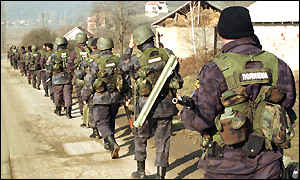BBC News Kosovo Build Up To Conflict Timeline