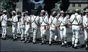 image: [ Morris men making merry ]