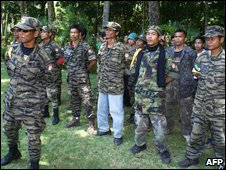 Guerrillas from MILF, file image