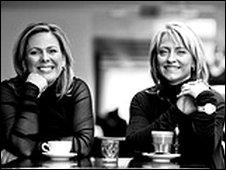 Halla Tomasdottir and Kristin Petursdottir