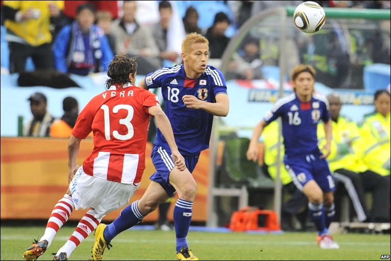 Keisuke Honda of Japan