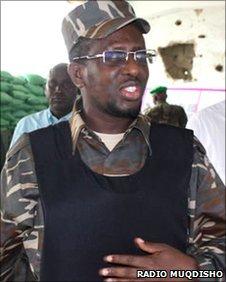 Somali President Sheikh Sharif Sheikh Ahmed (Copyright: www.radiomuqdisho.net)