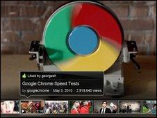 leanback youtube screen shot