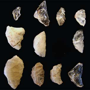 Ancient South African arrow heads?