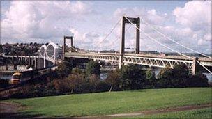 Bridges across River Tamar