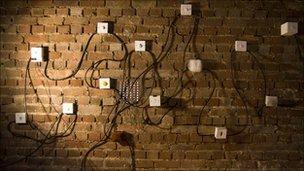 Light switches, Katrin Baumgarten