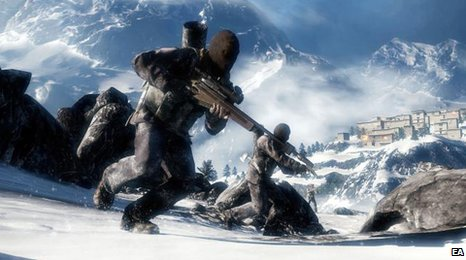 Screenshot from Medal of Honor, EA
