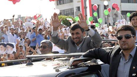 Mahmoud Ahmadinejad in Beirut, 13/10