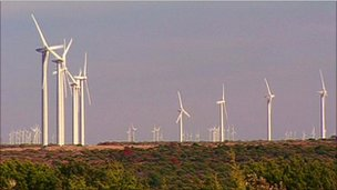 Wind Farms in Texas