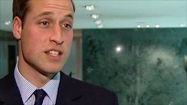 Prince William: England World Cup bid 'fantastic' - BBC News