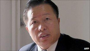 2005 file photo of Gao Zhisheng