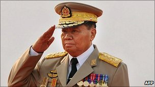 Senior General Than Shwe of Myanmar