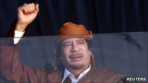 Muammar Gaddafi, Libya, 13 Feb