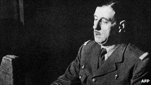 De Gaulle's BBC address