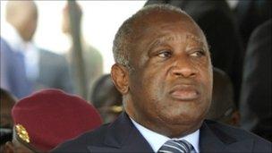 Laurent Gbagbo (file photo - 4 February 2011)