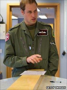 Prince William in RAF uniform