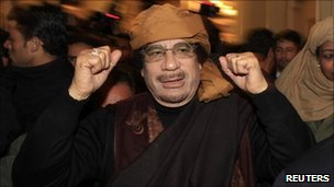 Col Muammar Gaddafi (8 March 2011)