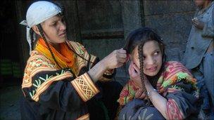 kalash woman