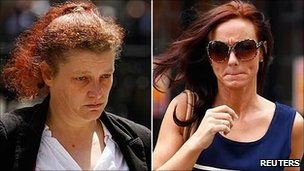 Joanne Fraill, Jamie Sewart arriving at the High Court on 14 June 2011