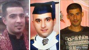 Haroon Jahan, Shahzad Ali and Abdul Musavir
