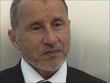 Head of the NTC Mustafa Abdul Jalil