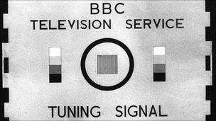 BBC tuning signal