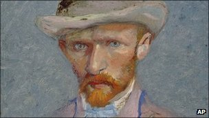 Vincent Van Gogh self-portrait, 1887