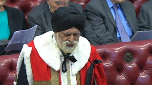 Lord Indarjit Singh (source: BBC)