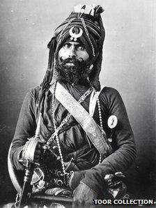 Akali Nihang soldier