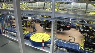 Mercedes plant