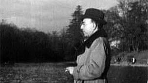 Abdol-Hossein Sardari, Bois de Boulogne lake, Paris, 1946