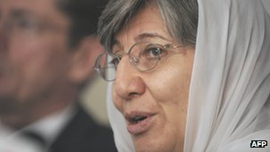 Sima Samar, Head of Afghan Independent Human Rights Commission