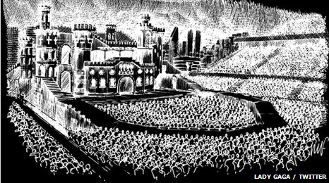 Lady Gaga Born This Way Tour