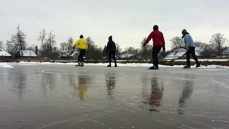 Dutch skaters