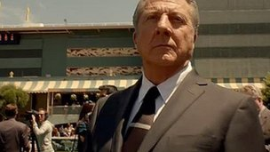 Dustin Hoffman in HBO's Luck