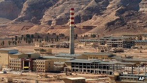 File image of Iran's Uranium Conversion Facility outside city of Isfahan