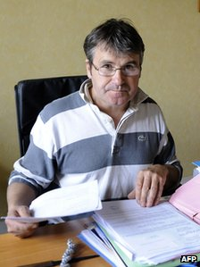 French farmer Paul Francois who sued Monsanto - 20 Apr 10