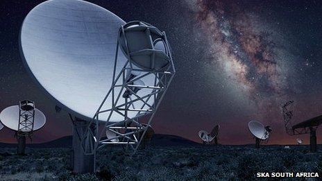 The Square Kilometre Array will take to the middle of the next decade to finish