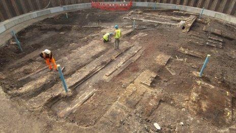 Crossrail excavation
