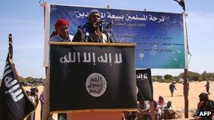 Al-Shabab spokesman Sheikh Ali Mohamud Rage in Elasha Biyaha