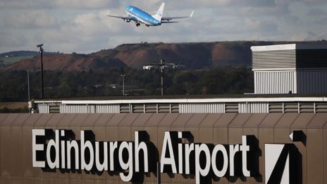 BAA was ordered to sell either Glasgow or Edinburgh by on competition grounds