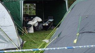 Bucknell campsite