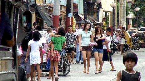 Street in Manila