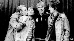 The Stone Roses - Reni, Mani, Ian Brown and John Squire