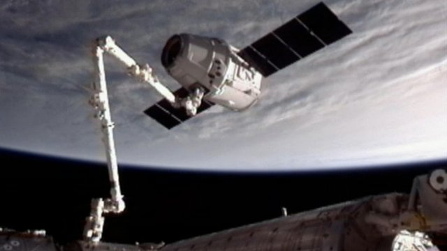SpaceX Dragon ship